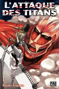 L attaque des titans manga volume 1 simple 72003