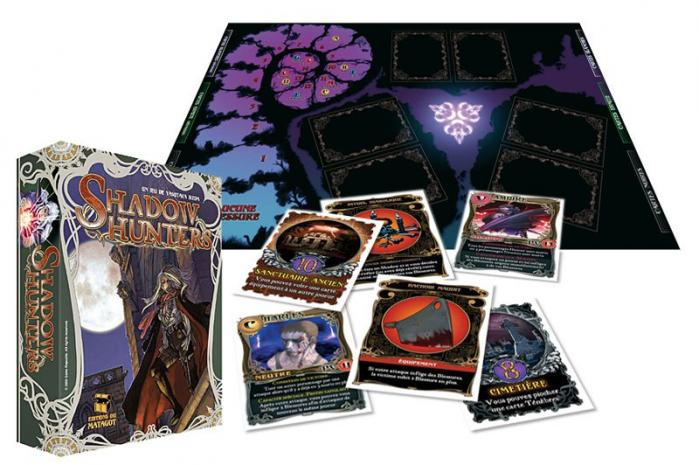 Shadow hunters jeu